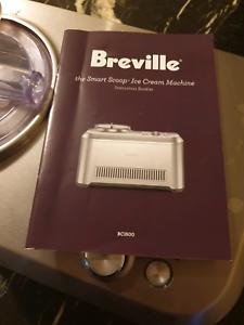 Breville Icecream maker