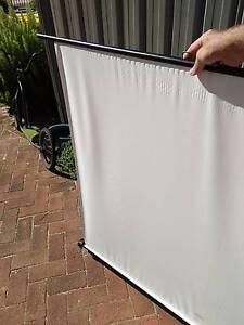 Retractable projector screen Hilton Fremantle Area Preview
