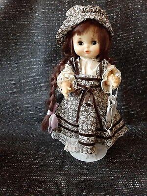 Alte Zapf Puppe Rosa 5018 Puppenkleid