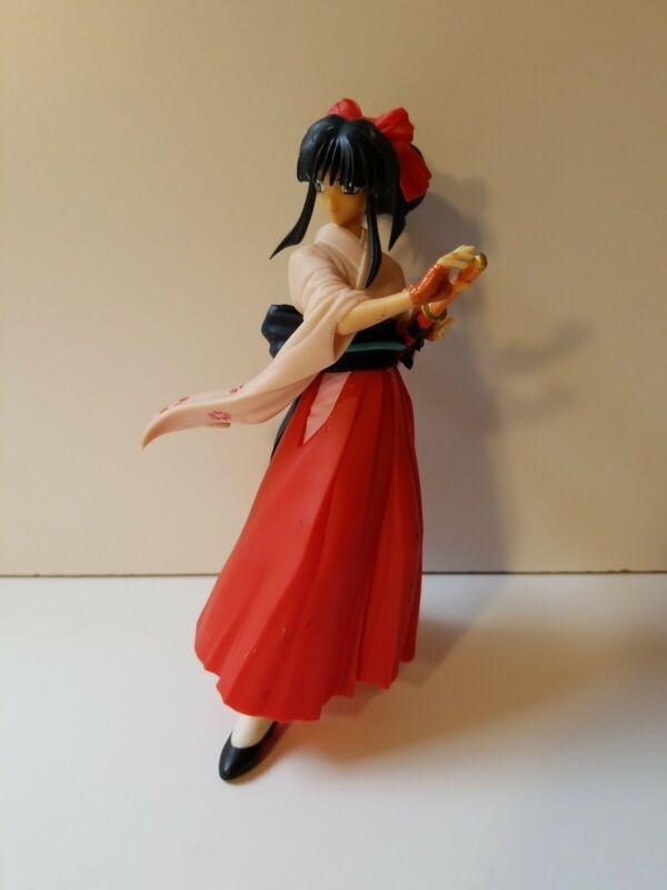 """Sakura Wars Taisen Shinguji Real Model 14 Sega Red 7"""" Figure 1997"""