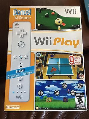 Wii Play With Bonus Remote