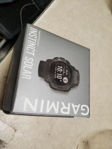 Garmin Instinct 45mm Solar Rugged GPS Smartwatch - (010-02293-10) NOB