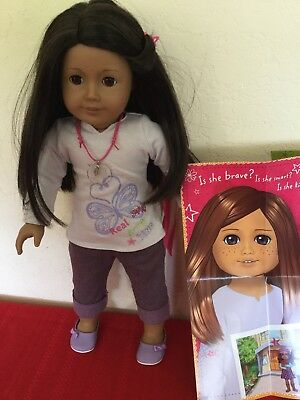"Used, My American Girl Doll Kanani InnerstarU u #42 Doll 18"" with Box for sale  Shipping to Canada"