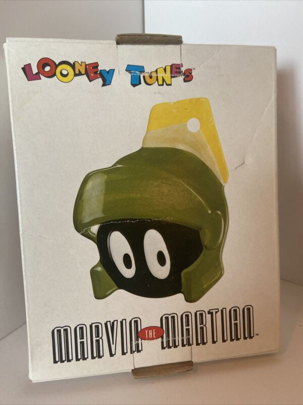 Vintage 1993 Warner Bros Looney Tunes MARVIN THE MARTIAN Spoon Rest New Old Stoc