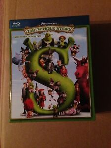 Shrek Bluray Boxset