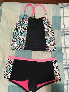 2 piece XL (size 16) girls bathing suit $5