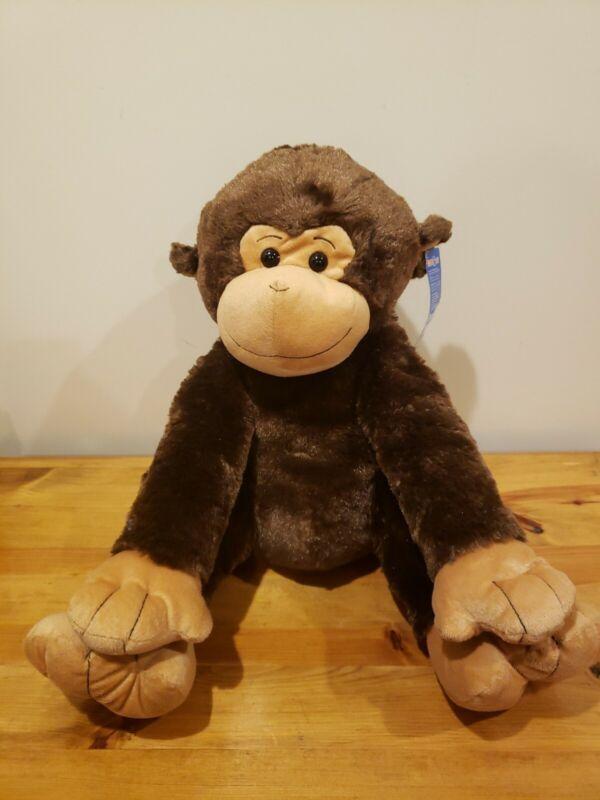 Toys R Us Monkey Plush Stuffed Animal Brown Large