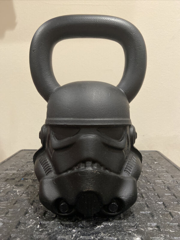 Rare Onnit Star Wars Stormtrooper Kettlebell 60 lbs Pounds - Great condition