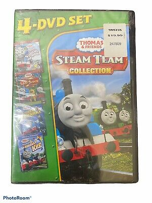 SEALED Thomas Friends: Steam Team Collection (DVD, 2011, 4-Disc Set)
