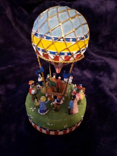 Liberty Falls Hot Air Balloon Music Box