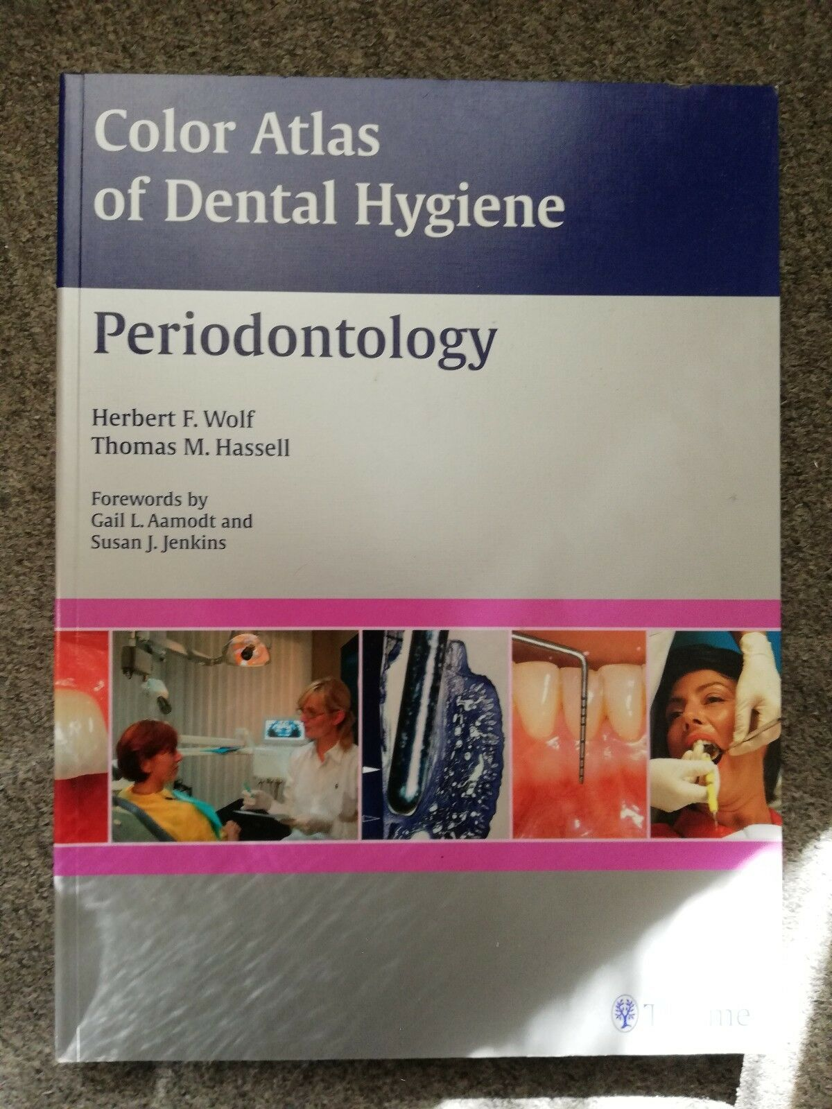 Color Atlas of Dental Hygiene / Periodontology / KOMPLETT NEU! TOP!