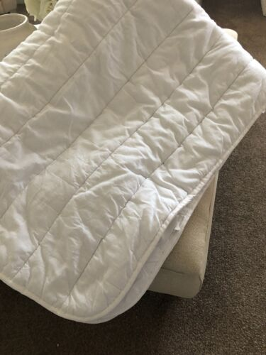 KINGSIZE Padded Mattress Topper / Protector - In Good Condition
