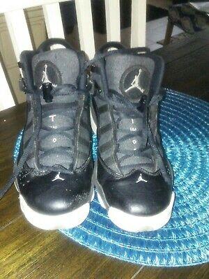 check out 2be2c 42ab0 Nike Air Jordan Size 6Y Black White 323529-021