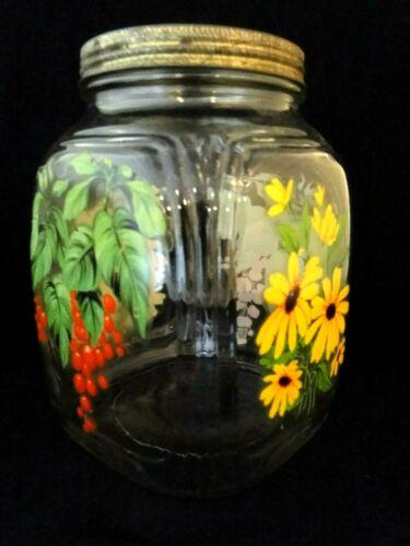 VINTAGE Owens Illinois Glass Company 1 GALLON Jar
