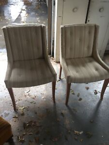 Chairs, Footrest, Small Table Furniture for sale