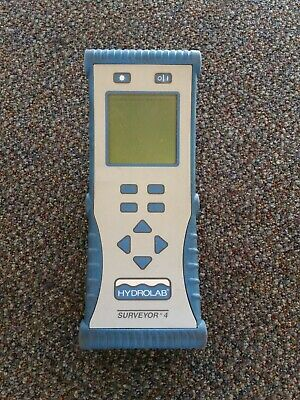 Hydrolab Surveyor 4 Portable Water Quality Tester Monitor Display Data Logger