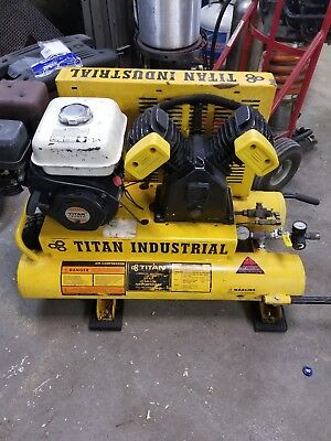 Titan Industrial 5.5 Hp 8 Gallon Air Compressor