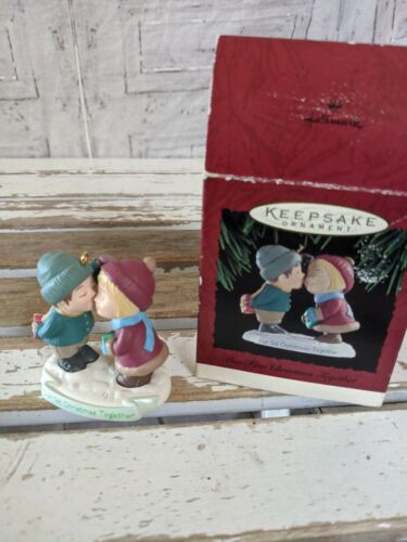 Hallmark our first Christmas together 1994 ornament Xmas holiday tree