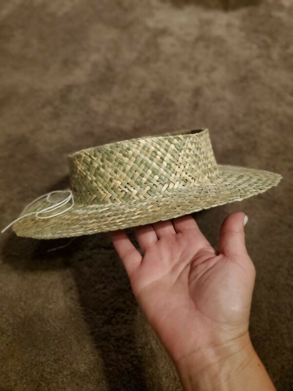 """Pikoʻole Pāpale Hawaiian Crownless Hat (Petite Brim) from Hale Pua Size 21"""""""
