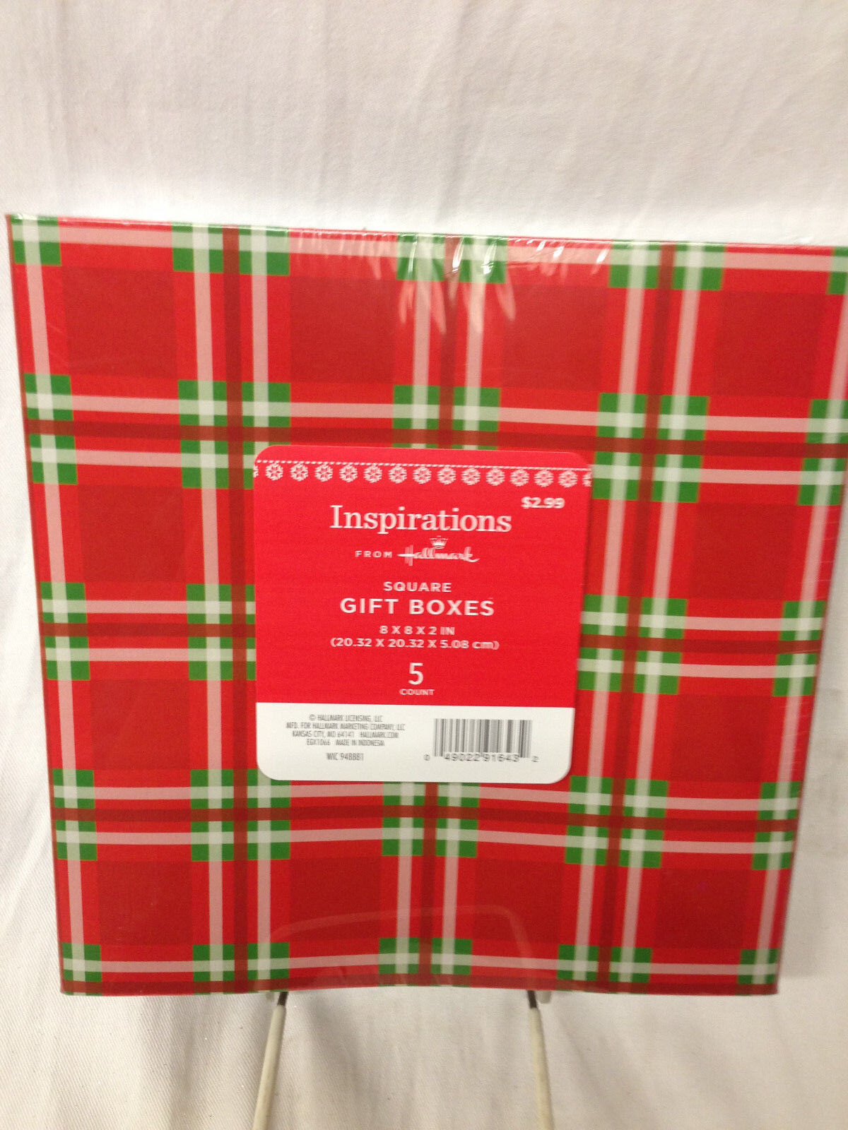 HALLMARK INSPIRATIONS PACK OF 5 SQUARE ASSORTED GIFT BOXES C