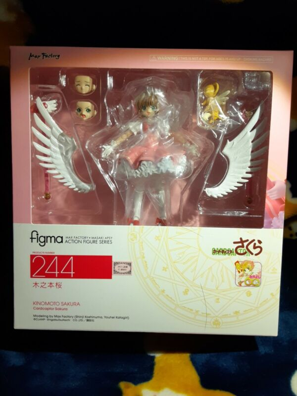 Cardcaptor Sakura Kinomoto Sakura Figma 244 Figure New & Authentic
