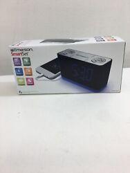 Emerson SmartSet CKS1507 Alarm Clock Radio w/ Bluetooth Nightlight USB Charge