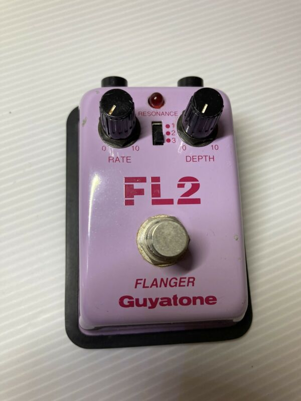 Maxon FL-2 FLANGER MIJ Vintage Guitar Effect Pedal Made in Japan Analog ChorusFS