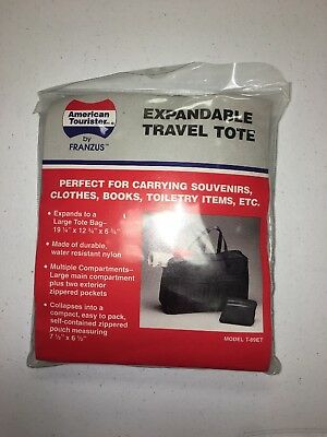 American Tourister Tote (American Tourister Expandable Travel Tote Model T-89ET NEW!!)