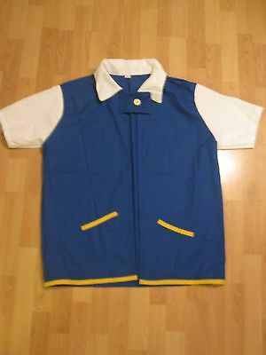 Pokemon Ash Ketchum Trainer Costume Shirt Jacket Adult medium large Halloween