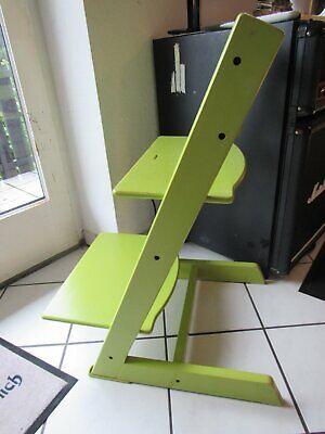 STOKKE Trip trap Kinderstuhl Treppenstuhl Hochstuhl mitwachsend - grün