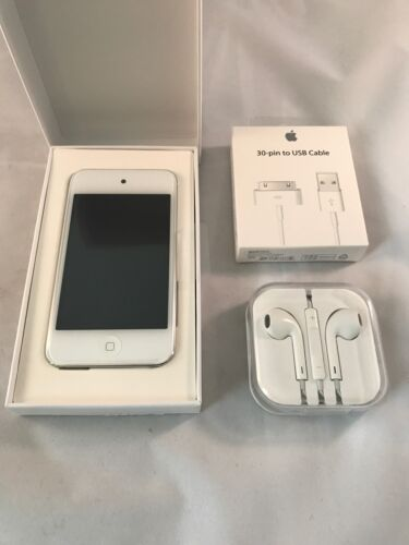 Ipod Touch - New Apple iPod touch 4th Generation White (8 GB) Bundled with Accessories