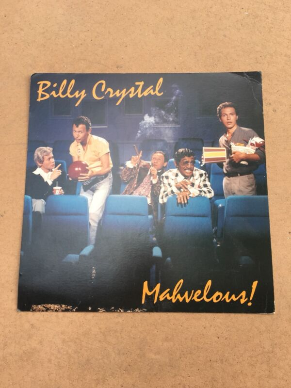 Billy Crystal Mahvelous! 12x12 LP Record Flat Poster