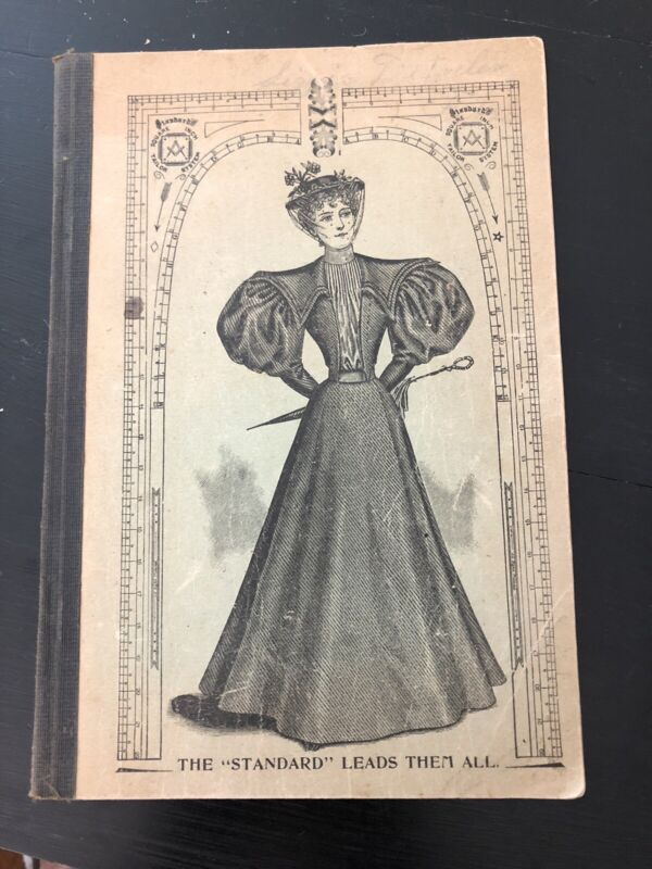 Antique Sewing Booklet The Standard Garmet Cutting Company, 1896