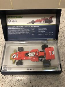 Slot car Scalextric limited edition