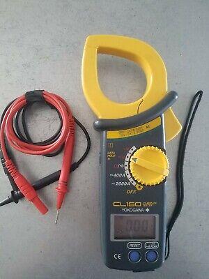 Yokogawa Cl150 Clamp Electrical Tester Meter 6001000 V750 Volt 2000 Amp Klein