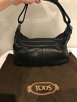 Tod's Borsa Donna Nera Usata Originale 100% - tod's - ebay.it