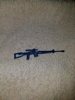 Sniper Rifle SVD Light Blue Vintage 1986 Cobra G.I.Joe Accessory Dragunov