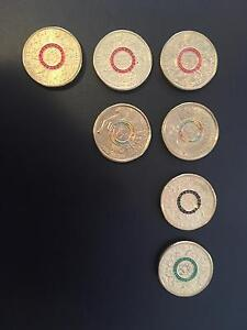 Olympic $2 coins to swap red black green rainbow Kirwan Townsville Surrounds Preview