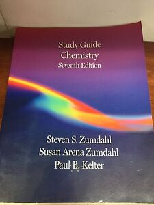 Chemistry Study Guide+Solutions Guide, Zumdahl 7th edition