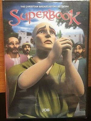 New  Cbn Superbook 700 Club Dvd Christian Kids Family Movies Story Stories