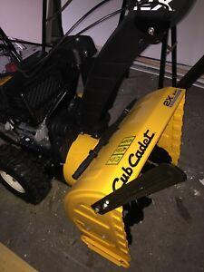 Cub Cadet 2x24 inch 243cc snowblower (trade for bigger machine)