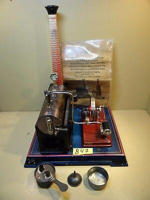 Dampfmaschine Bing 10/16/4 von 1930 / Originale Bedienungsanleitung / Selten