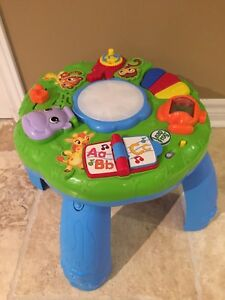 Leapfrog animals musical activity table