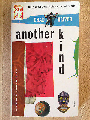 Chad Oliver ANOTHER KIND Great Cover Art L@@K WOW!!!