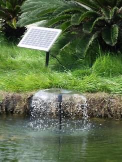 800LPH Solar Submersible pump POND Pool Garden WATER Fountain