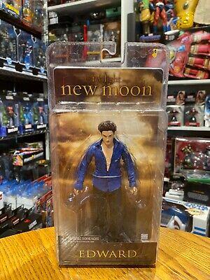 "Twilight Saga New Moon Edward Cullen Figure 7"" 2009 New Sealed"