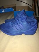 Adidas zx flux all blue Pemulwuy Parramatta Area Preview