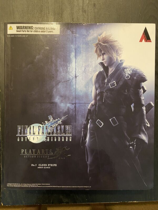 final fantasy cloud Advent Children Figure
