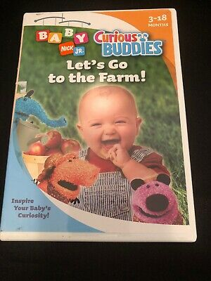 Baby Nick Jr (Nick Jr. Baby - Curious Buddies: Lets Go to the Farm (DVD,)