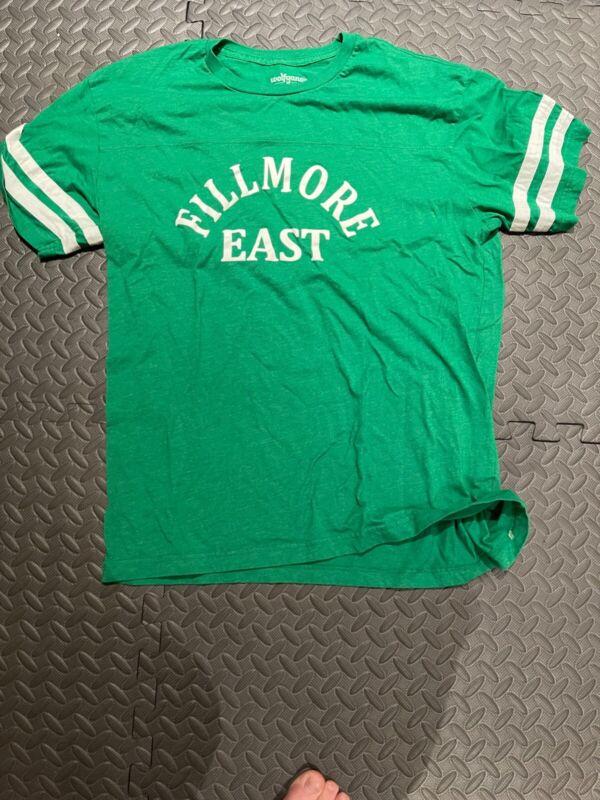 Fillmore East T Shirt Grateful Dead pigpen bill graham retro old school LG Size